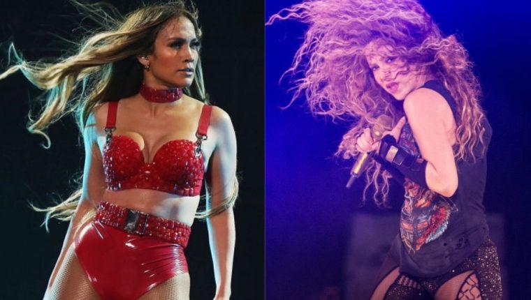 Jennifer López y Shakira protagonizan el espectáculo de medio tiempo de la edición LIV del Super Bowl.