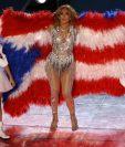 J. Lo mostró la bandera de Puerto Rico al mismo tiempo que su hija cantaba Born In The USA.