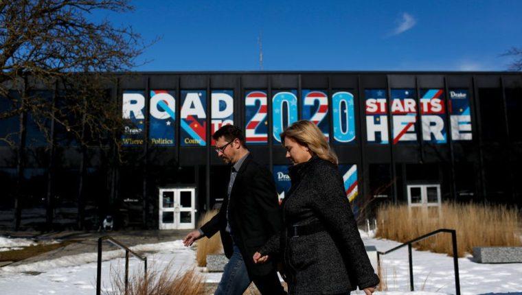 La carrera hacia la Casa Blanca se inicia en Iowa. GETTY IMAGES