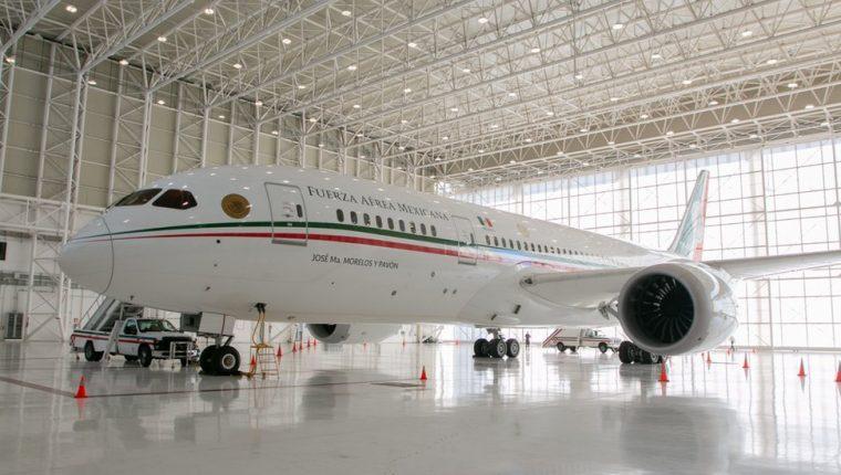 El avión presidencial fue adquirido por el gobierno de México en noviembre de 2012.