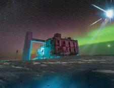 El IceCube ocupa un kilómetro cúbico en el Polo Sur.