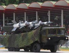 Los equipos rusos forman el grueso de las defensas antiaéreas de Venezuela.