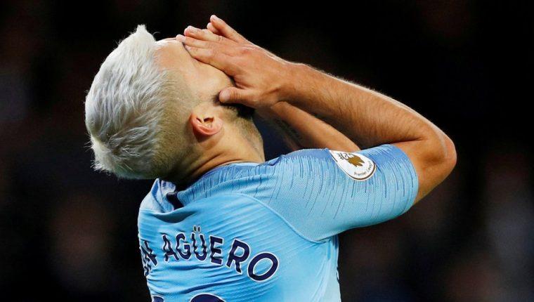 Una de las estrellas del Manchester City es Sergio Agüero.