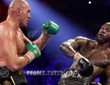 Tyson Fury derrotó a Deontay Wilder en el séptimo asalto por nocáut técnico.