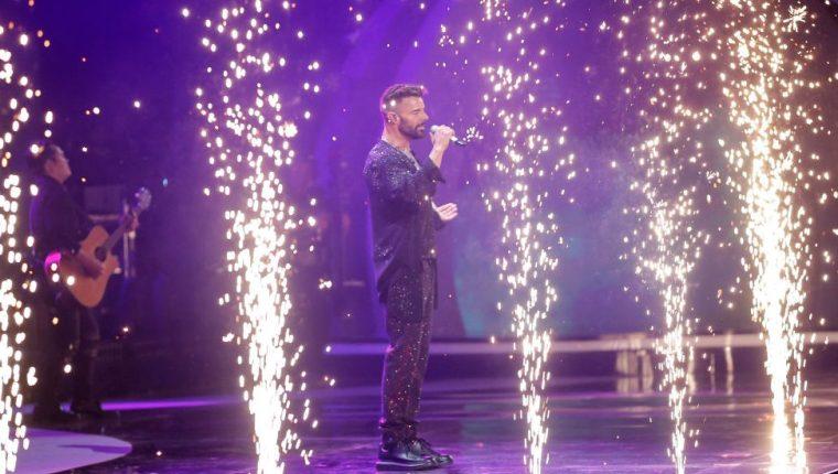 El cantante puertoriqueño Ricky Martin hizo un repaso por su repertorio musical en el Festival de Viña del Mar 2020, celebrado en medio de violentas manifestaciones en los alrededores del anfiteatro de la Quinta Vergara. GETTY IMAGES