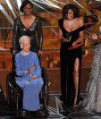 Katherine Johnson recibió una gran ovación durante la ceremonia de los premios Oscar de 2017.
