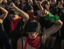 Las mujeres desempeñaron un papel destacado en las manifestaciones en Chile. FABIO BUCCARELLI / WORLD PRESS PHOTO
