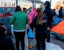 Jueces bloquearon el programa ante el peligro que corren los migrantes. (Foto Prensa Libre: Hemeroteca PL)