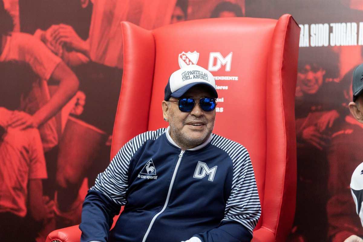 """Maradona: """"Ojalá los napolitanos tuviéramos ahora un Messi"""""""