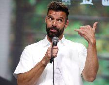 El cantante puertorriqueño Ricky Martin habla durante una rueda de prensa este domingo, antes del inicio del Festival Internacional de la Canción, en Viña del Mar, Chile. Foto Prensa Libre: EFE