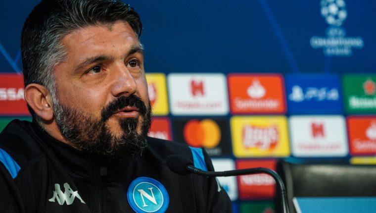 Gennaro Gattuso asegura que el juego contra el Barcelona será determinante. (Foto Prensa Libre: EFE)