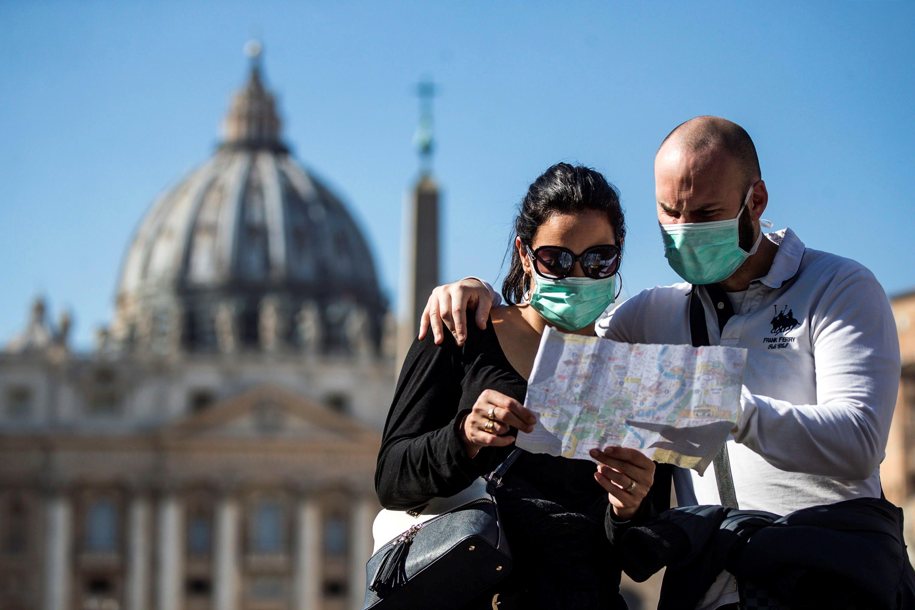 No hay turistas en el Vaticano