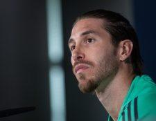 El capitán del Real Madrid, Sergio Ramos, asegura que el Madrid podrá reaccionar en La Liga. (Foto Prensa Libre: EFE)