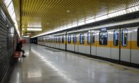 Milan (Italy), 25/02/2020.- A view of an metro station of the Milan's metro, Italy, 25 February 2020. Italian authorities say that there more than 300 confirmed cases of COVID-19 disease were registered in the country, with at least ten deaths. Precautionary measures and ordinances to tackle the spreading of the deadly virus included the closure of schools, gyms, museums and cinemas in the affected areas. (Cine, Italia) EFE/EPA/MATTEO CORNER