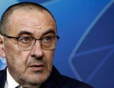 El entrenador de la Juventus, Maurizio Sarri confiesa que al primer lugar que quiere viajar es a Roma. (Foto Prensa Libre: EFE)