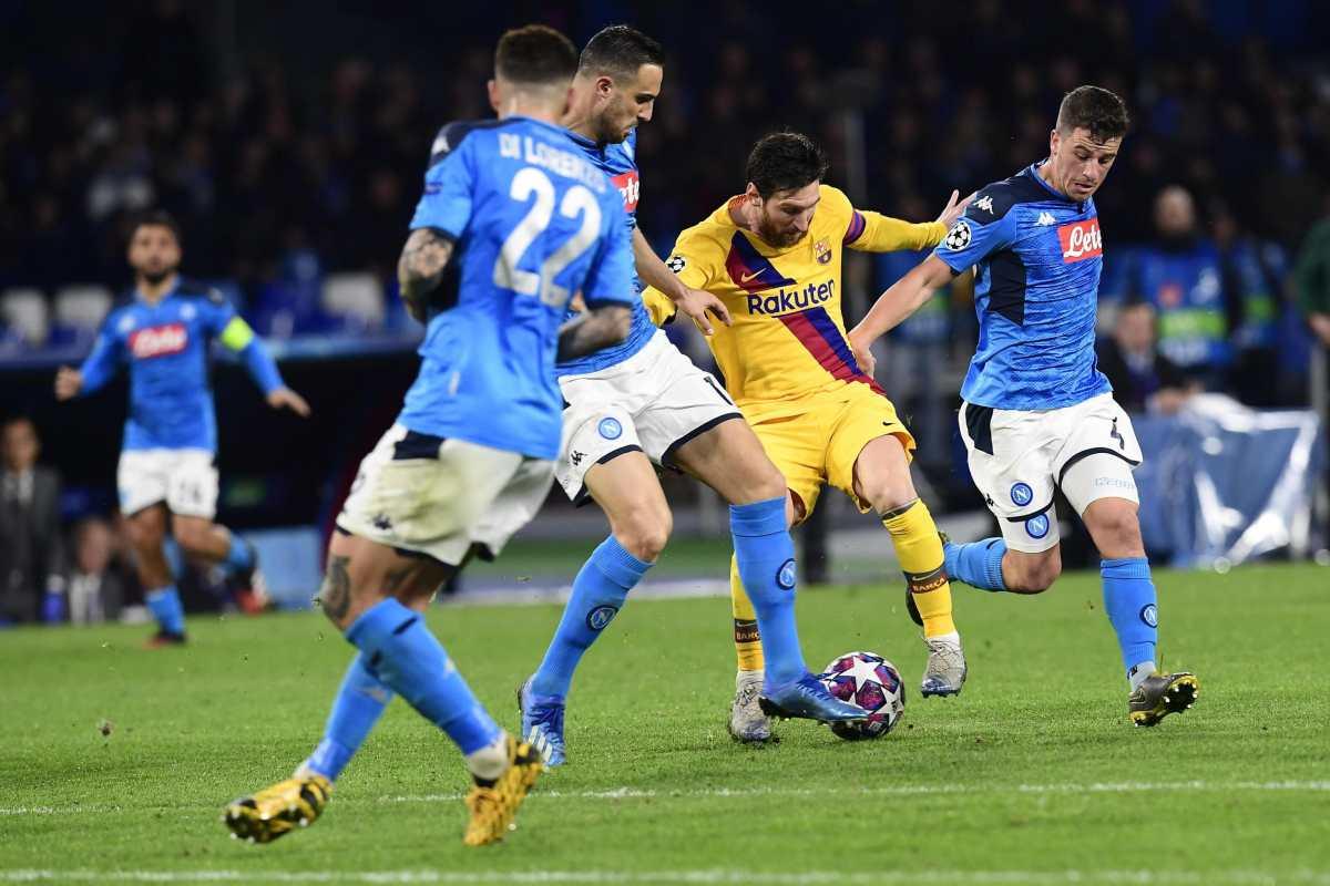 EN DIRECTO   Nápoli vs Barcelona