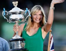 La tenista Maria Sharapova, cinco veces campeona del  Grand Slam anunció su retiro del tenis profesional. (Foto Prensa Libre: EFE)