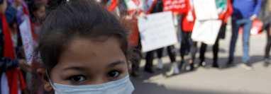 Los síntomas del coronavirus son muy similares a los de la influenza. (Foto Prensa Libre: EFE)