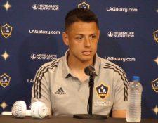 Javier Hernández actualmente milita en el Galaxy de Los Ángeles, de la Liga MLS. (Foto Prensa Libre: EFE).