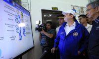 Presidente Alejandro Giammattei conoce resultados de los operativos del estado de Prevención en Chimaltenango. (Foto Prensa Libre: Presidencia)