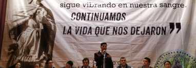 La junta directiva de los 48 Cantones expone sus demandas al vicepresidente Guillermo Castillo. (Foto Prensa Libre: María Longo)