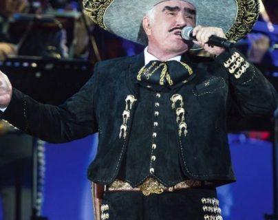 Vicente Fernández se retiró de los escenarios en el 2016. (Foto Prensa Libre: Hemeroteca PL).