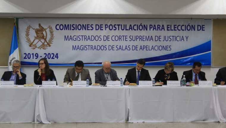 MP investiga elección de magistrados de cortes 2020