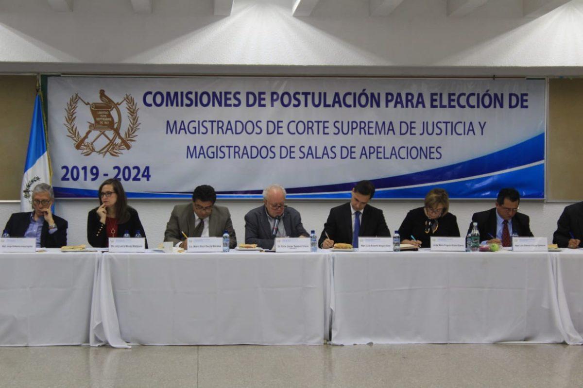 Comisión define lista de 26 aspirantes a la CSJ y la entrega al Congreso