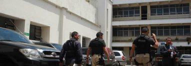 Las instalaciones de la Saas están en el Callejón Manchén, atrás de Casa Presidencial. (Foto Prensa Libre: Hemeroteca PL)