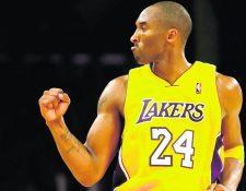 Kobe Bryant ha recibido homenajes en casi todos los deportes, después de su fallecimiento. (Foto Prensa Libre: Hemeroteca PL)