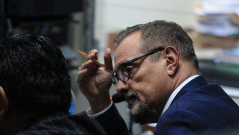 Carlos Soto Menegazzo, exministro de Salud. (Foto Prensa Libre: Byron García)