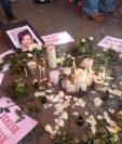 El proceso penal por el femicidio de Chelsiry Paola es uno de los casos retrasados por la pandemia. (Foto Prensa Libre: Sororidad Guatemala / Facebook).