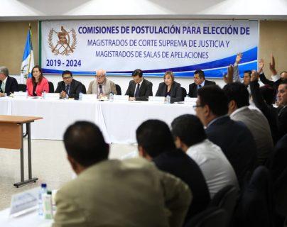 La Comisión de Postulación empezó con la integración de la nómina de candidatos. (Foto Prensa Libre: Hemeroteca PL)
