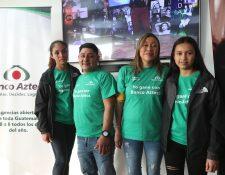 Jesús de León de la Blanca, San Marcos, y Ana Leticia Letrán de Barberena, Santa Rosa, fueron los primeros ganadores. Foto Norvin Mendoza