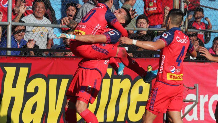 Alejandro Díaz y Ramiro Rocca han convertido entre los dos 9 goles. (Foto Prensa Libre: Hemeroteca PL)