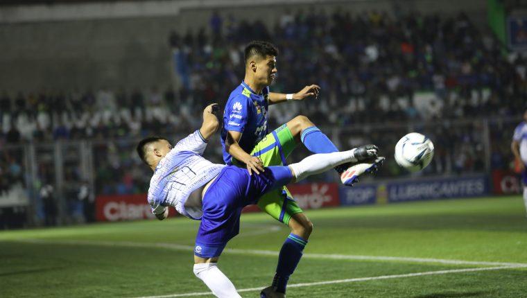 El Deportivo Mixco igualó en casa con Cobán Imperial. (Foto Prensa Libre: Francisco Sánchez)