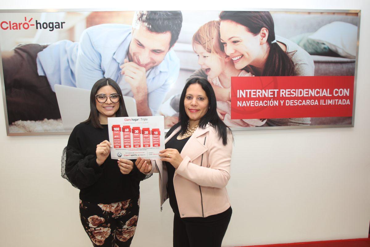 Claro conecta a Guatemala con internet de alta velocidad