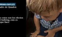 Imagen muestra los efectos que causa el acoso escolar en un niño. (Foto: Pantallazo del video de El Mundo).