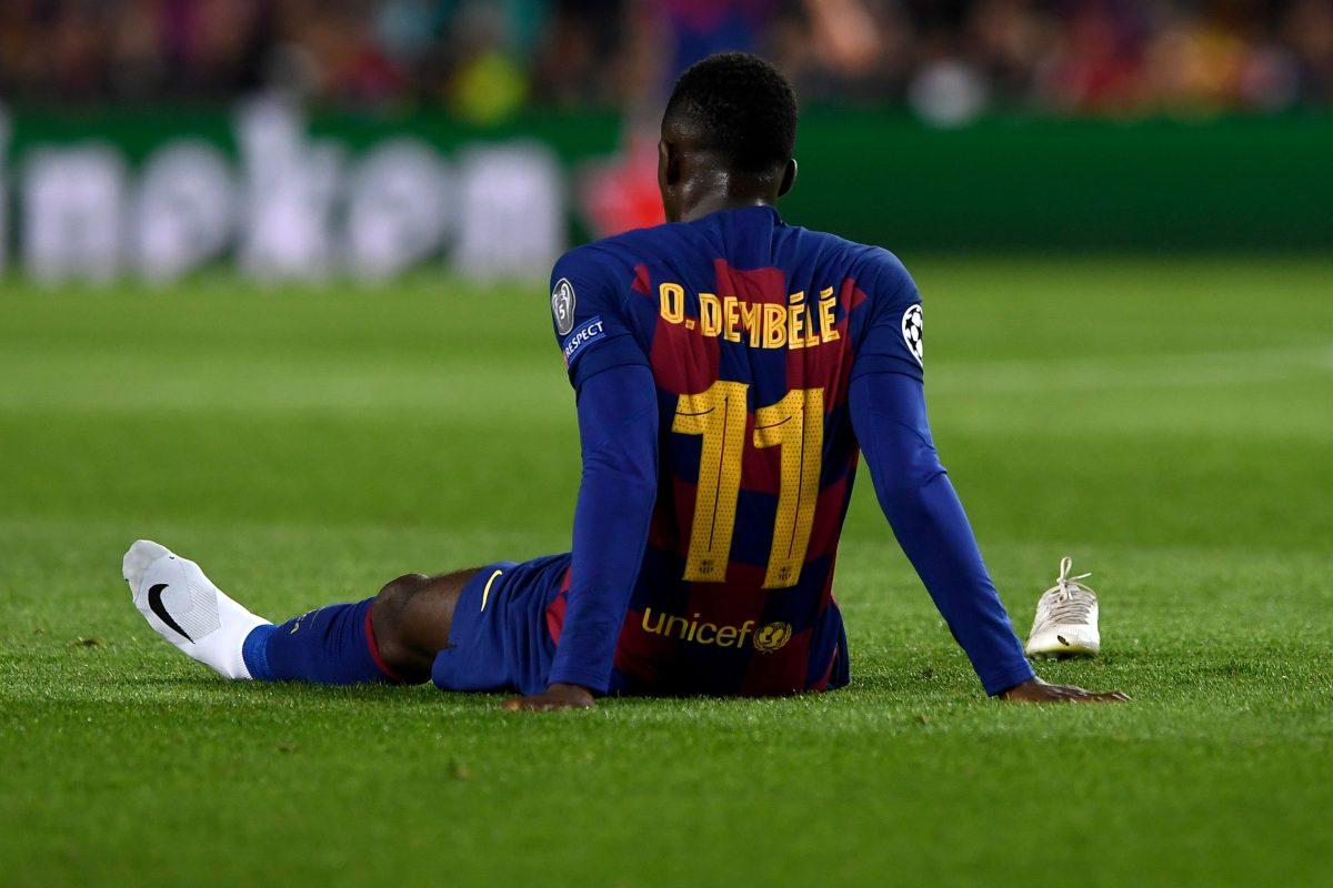 Dembélé estará 6 meses de baja y se perderá la Eurocopa 2020