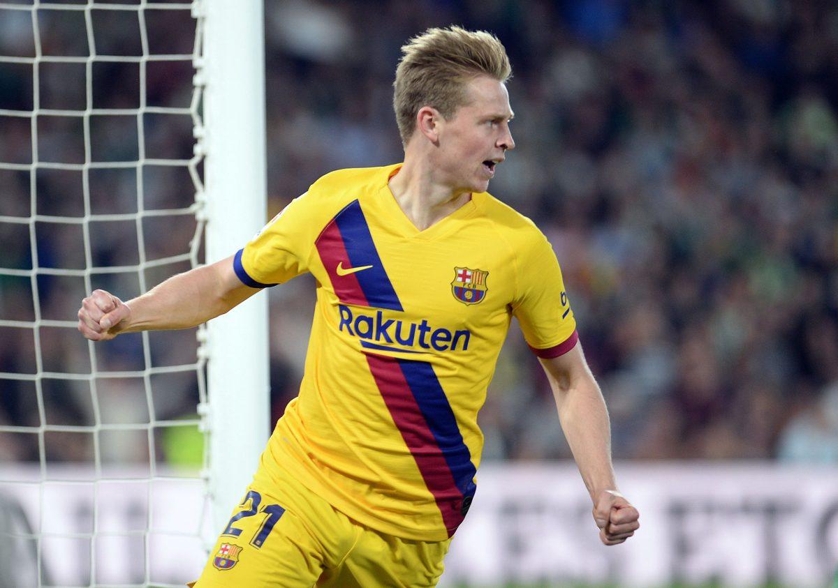 Frenkie de Jong es un ocho… ¿o un cuatro? en el Barcelona