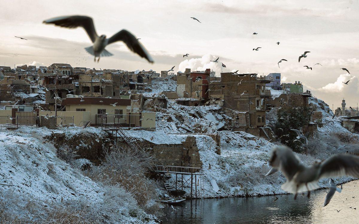 Fotogalería: nieve 100 años después en Irak