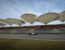 El Gran Premio en Shanghai todavía no se sabe cuándo se correrá. (Foto Prensa Libre: AFP)