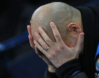 El entrenador español Pep Guardiola asegura que seguirá en el City pase lo que pase. (Foto Prensa Libre: AFP)