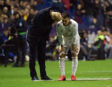¿ Eden Hazard. (Foto Prensa Libre: AFP)