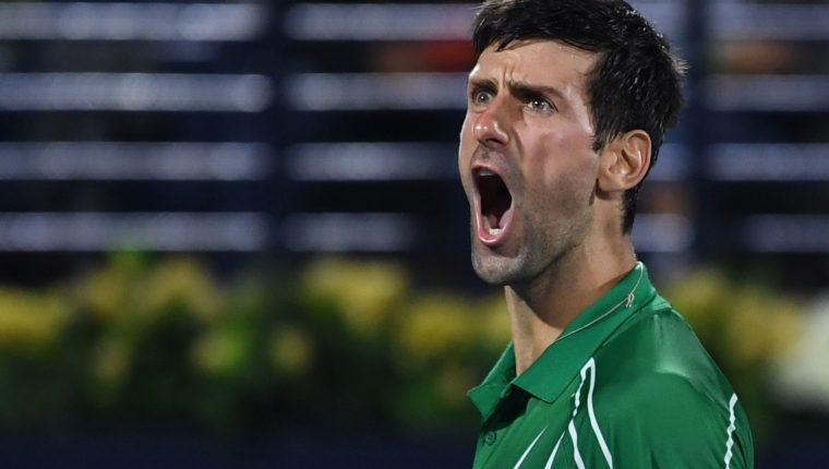 El serbio Novak Djokovic  aconseja que todos se cuiden para salir adelante. (Foto Prensa Libre: AFP)