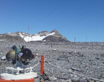 La base Esperanza, en la Antártida, donde se registraron 18.3 grados, la temperatura más alta desde 1961. (Foto Prensa Libre: EFE).
