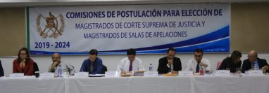 La Comisión de Postulación de magistrados de Salas de Apelaciones finalizó con la integración de la nómina de 270 profesionales. (Foto Prensa Libre: Hemeroteca PL)