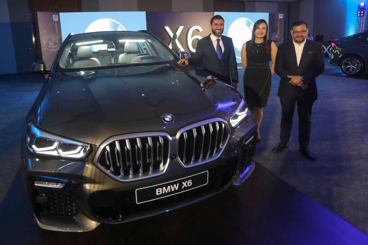BMW presenta la nueva y provocadora X6