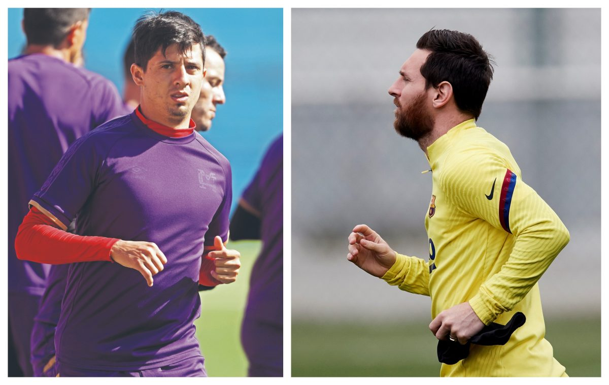 """Alejandro el 'Gambeta' Díaz: """"Estoy contento que me comparen con Messi"""""""