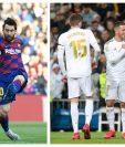Lionel Messi sumó otra jornada más sin anotar. (Foto Prensa Libre: AFP y EFE)